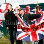 What do the British people think of the English Defence League?