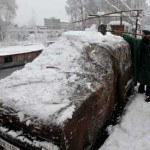 Pakistan freezing, Britain in bloom