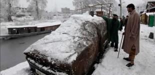 Pakistan freezing, Britain in bloom