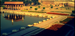 Shalimar Gardens in the evening light