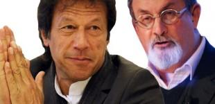 Salman Rushdie and Imran Khan Tom Cat Spat