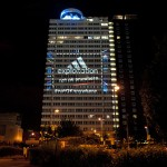 Why we projected Adidas' exploitation over the Olympics park