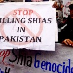 Shias in New York protest against 'genocide' in Pakistan