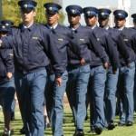 SA police and Mido Macia